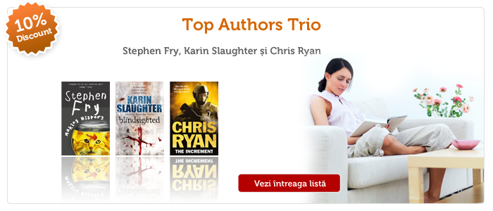 Promo 10%: Top Authors Trio