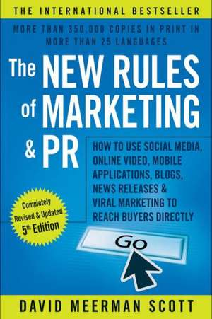 Carte The New Rules of Marketing & PR David Meerman Scott
