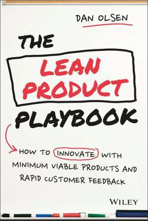 Carte the lean product playbook